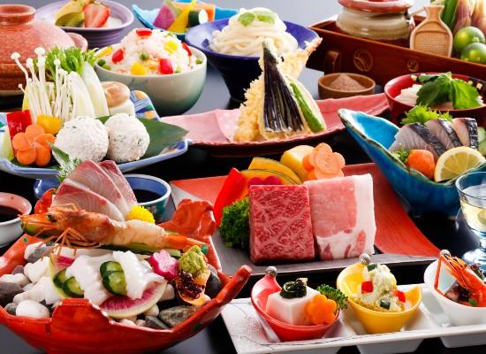 紅梅亭・夕食(イメージ)