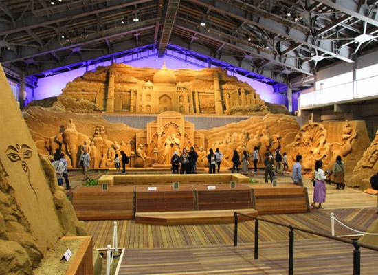 砂の美術館(イメージ)
