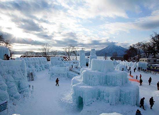 支笏湖氷濤まつり(イメージ)