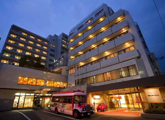 道後プリンスホテル・外観(イメージ)
