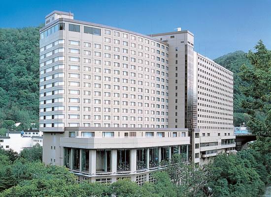定山渓ビューホテル外観