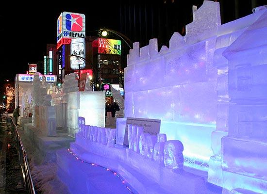 さっぽろ雪まつり 氷像/イメージ