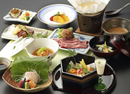 萩の宿常茂恵_初夏の会席料理イメージ