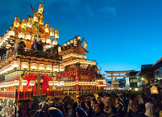 秋の高山祭(イメージ)