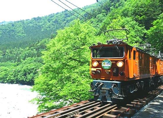 黒部峡谷鉄道(イメージ)