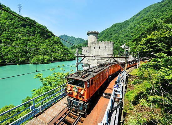 黒部渓谷鉄道(イメージ)