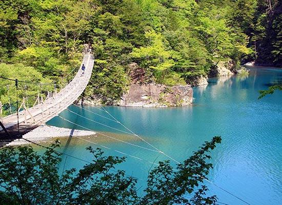 寸又峡「夢の吊橋」(イメージ)