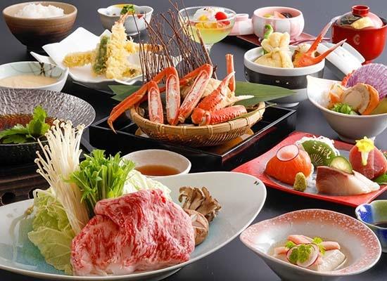 鳥取_三朝館夕食(イメージ)