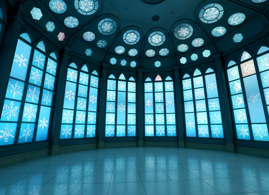 雪の美術館 イメージ