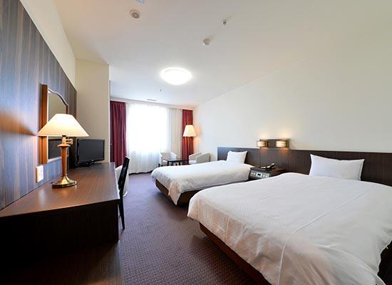 函館国際ホテル 客室一例