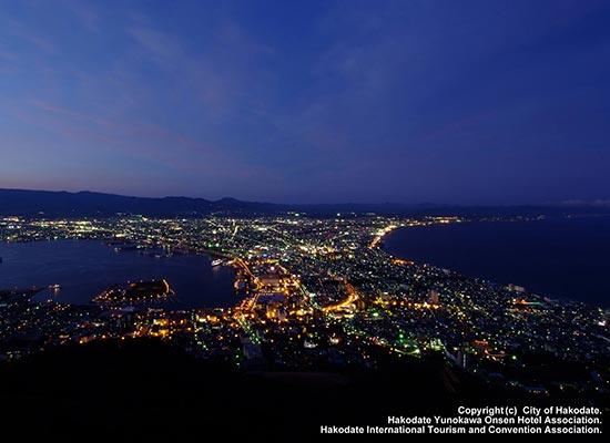 函館山の夜景(イメージ)