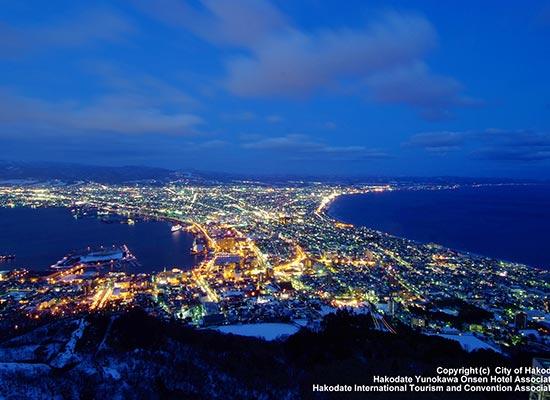 函館山からの夜景(イメージ)