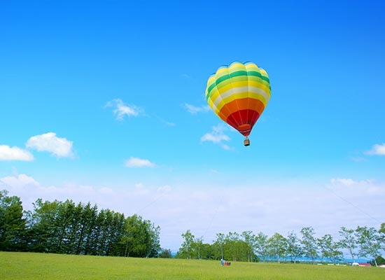 早朝熱気球体験 イメージ
