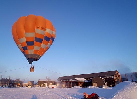 熱気球係留フライト体験(イメージ)