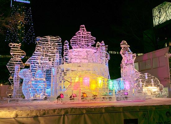 さっぽろ雪まつり_大通り会場(イメージ)