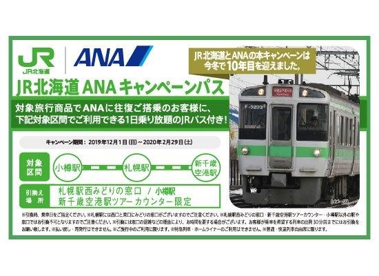 JR北海道ANAキャンペーンパス