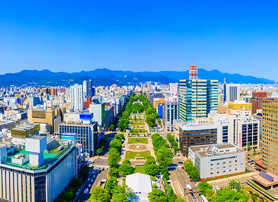 北海道_札幌大通公園(イメージ)
