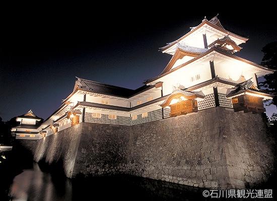 石川県_金沢城(夜)