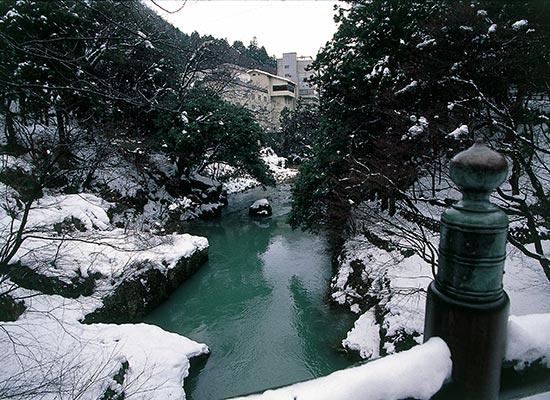 鶴仙渓・冬(イメージ)