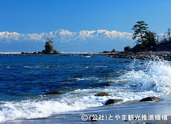 富山雨晴海岸・イメージ