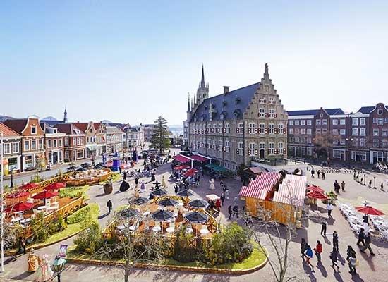 ハウステンボス_アムステルダム広場(イメージ)