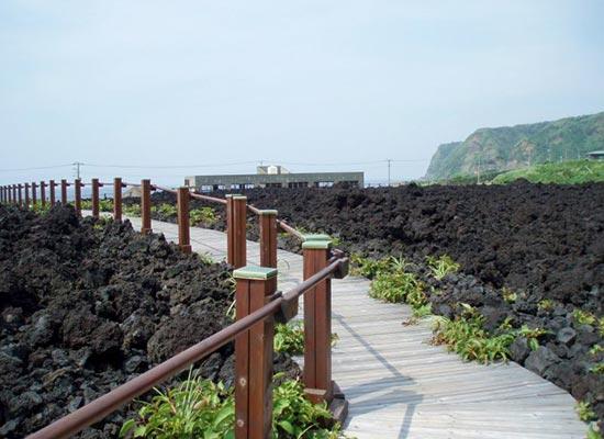 火山体験(イメージ)