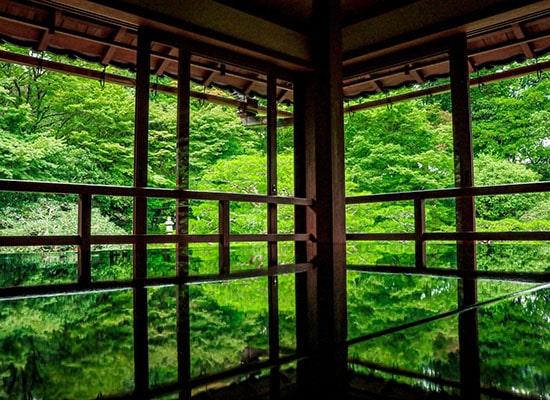 「リフレクション」で有名!京都から気軽に行ける「旧竹林院」(イメージ)