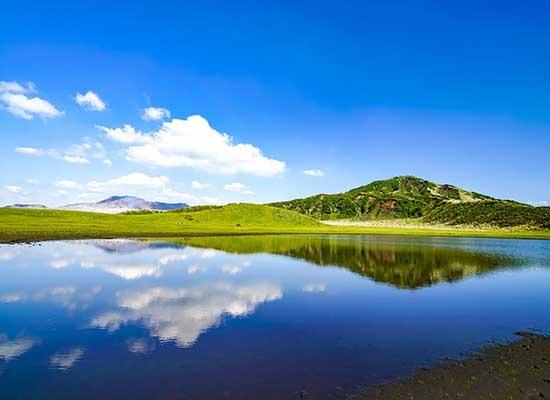 熊本 阿蘇山の大パノラマ(イメージ)