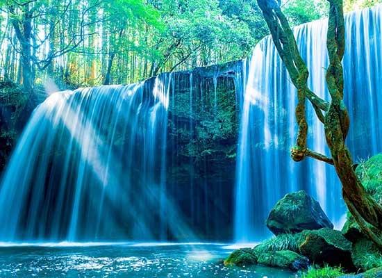 『大自然の絶景が盛りだくさん 熊本』 鍋ヶ滝 イメージ