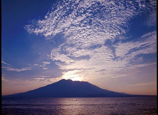 鹿児島のシンボル 桜島 ※イメージ