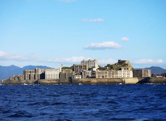軍艦島(イメージ)