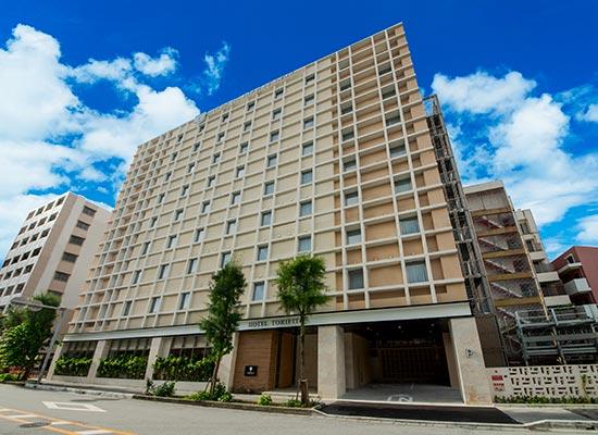 ホテル・トリフィート那覇旭橋/ホテル外観