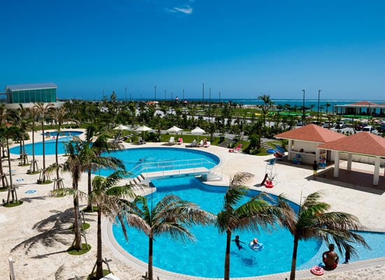 沖縄_サザンビーチホテル&リゾート沖縄プール(イメージ)