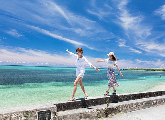沖縄_ビーチ(イメージ)