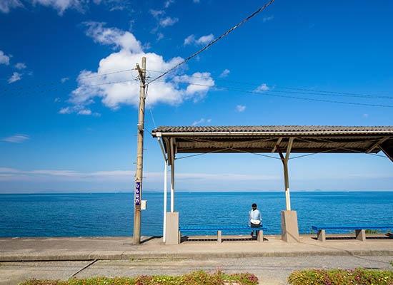 下灘駅(イメージ)