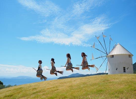 【香川/小豆島】小豆島オリーブ公園の風車(イメージ)
