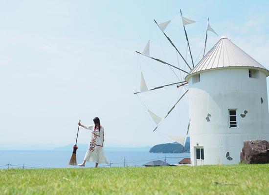 香川県 小豆島「オリーブ公園」