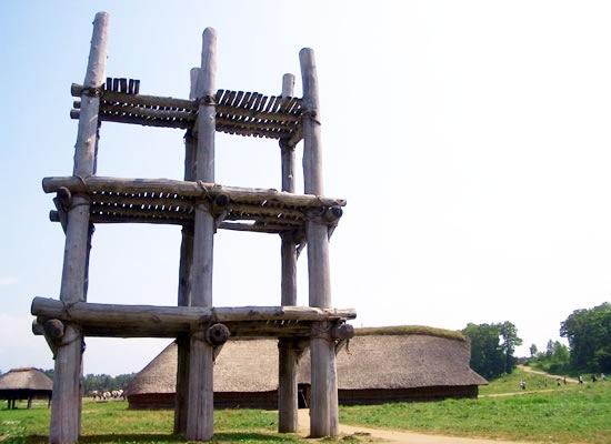 三内丸山遺跡(イメージ)