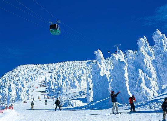 蔵王温泉スキー場(イメージ)