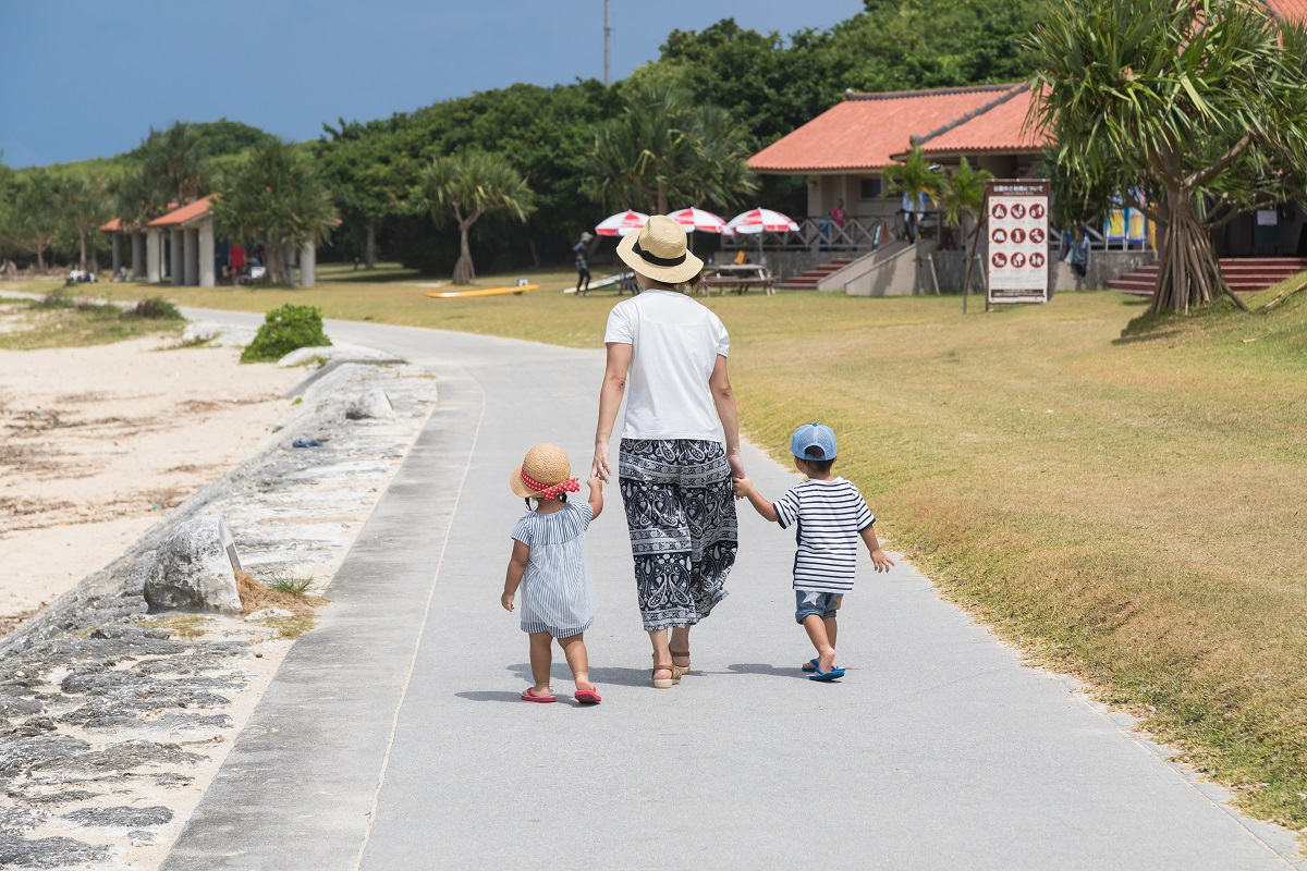 沖縄の子連れ旅行!そのコツとおすすめスポットを分かりやすく解説!