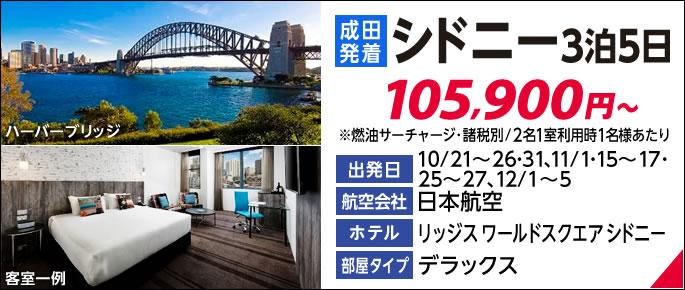 ANA利用羽田発着シドニー2泊5日