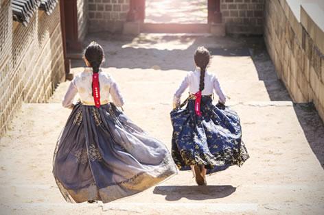 韓国の少女_イメージ