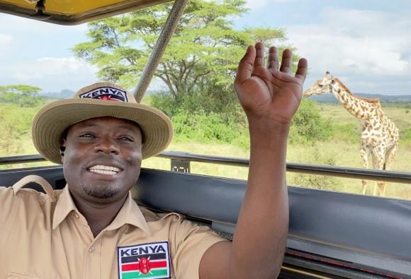 野生動物たちの住み家 『ナイロビ国立公園』より生中継の画像イメージ
