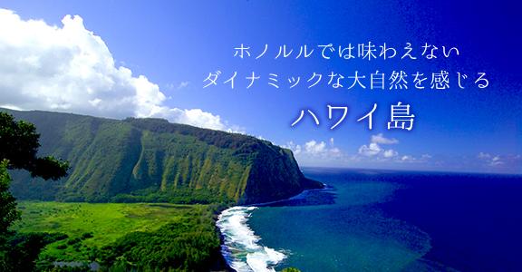 9/15より日本航空成田-ハワイ島直行便が就航!全国各地からの出発もより便利に